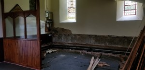 Gutting the Narthex